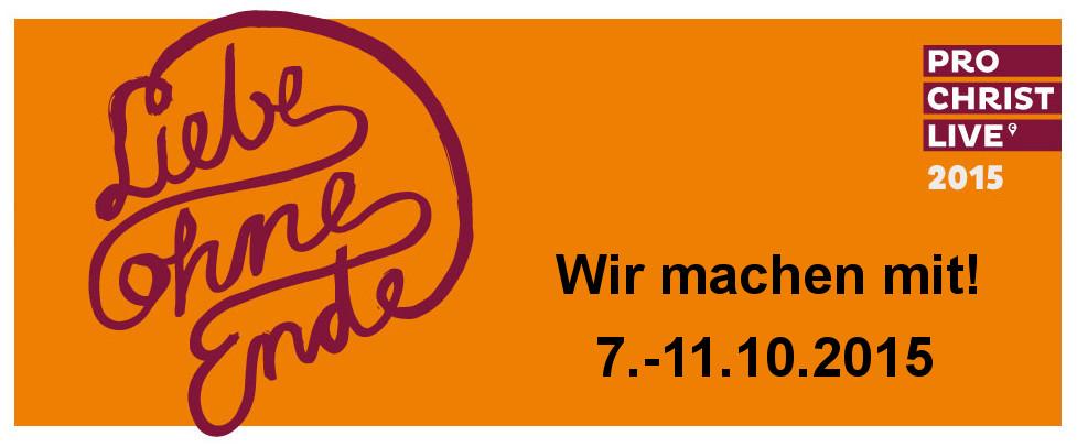 Liebe ohne Ende, Wie machen mit. 7.-11.10.2015